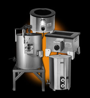 World's Best Quality - Standard and Custom Melting Pots and Tanks - Uniform heating, precise temperature controls and rapid start ups