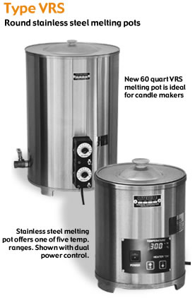 Stainless Steel Melting Pots